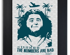 * QUADRO POSTER - HURLEY - LOST