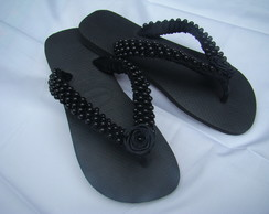Chinelo Customizado Preto