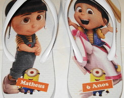 Chinelo Personalizado Personagens da TV