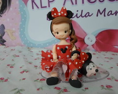 43-MINNEI E MICKEY PERSONAGENS DA DISNEY