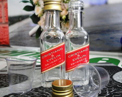 Mini Garrafinhas whisky red label