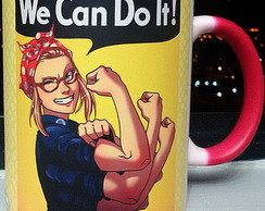Caneca Pin Up - We Can do it -Mod.01