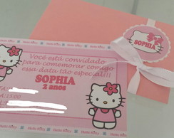 Convite Completo Hello Kitty