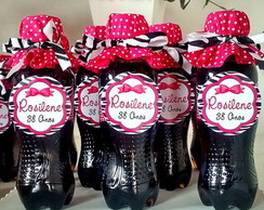 Mini Coca-cola Zebra Pink