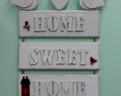 Placa Home Sweet Home Bird