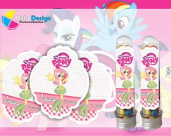 Rótulo para tubete My Little Pony