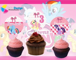 Topper para cupcake My Little Pony