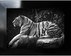 **QUADRO DECORATIVO - TIGER 2