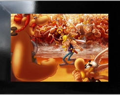 **QUADRO DECORATIVO - ASTERIX AND OBELIX