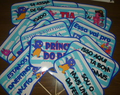 Placas divertidas BACKYARDIGANS MOD 02