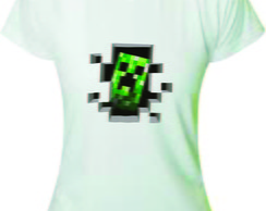 Camiseta Baby Look do Creeper