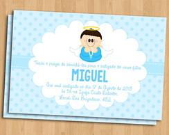 Convite Virtual Batizado Menino Elo7