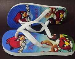 Chinelo Infantil Angry Birds