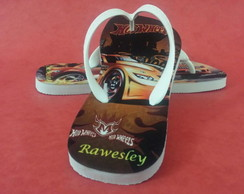 Chinelo Infantil Hot Wheels