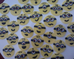 Toppers para cup cakes Minions