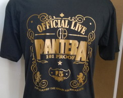 Camiseta Pantera Official Live