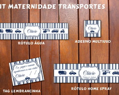 Taansportes Kit digital LUXO Maternidade