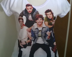 Camiseta One Direction Branca