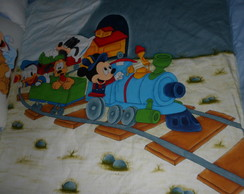 Kit Cama Mickey no Trem
