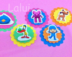 Aplique Scrap - Pocoyo