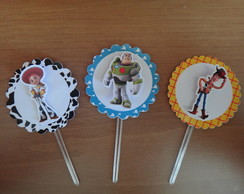 Topper para Cup Cake Toy Story
