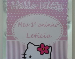 Saquinho metalizado Hello Kitty