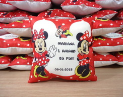 MINI ALMOFADA 18X18CM MINNIE