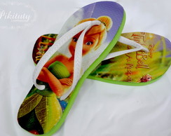 Chinelo Personalizado - Tinker Bell