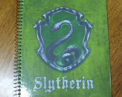 Caderno Harry Potter Slytherin
