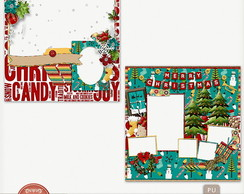 Kit Digital Merry Christmas Quick Pages