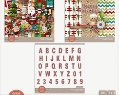 Kit Digital Merry Christmas Bundle