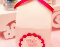 Milk box peppa pig