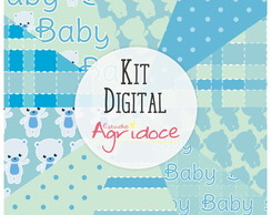 Kit Digital Papéis Baby!