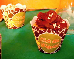 Wrapper (saia) para Cupcake - Zoo Safari P
