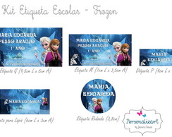 Kit Etiqueta Escolar - FROZEN