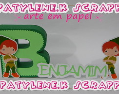 LETRA 3D PETER PAN MOD -1 COMPLETO