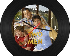 Relógio de Vinil - Two And A Half Men