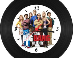 Relógio de Vinil - The Big Bang Theory