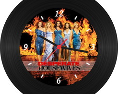 Relógio de Vinil - Desperate Housewives