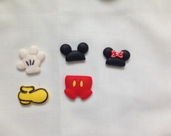 Apliques Biscuit Mickey e Minnie