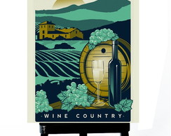 * MINI POSTER - NAPA VALLEY-CALIFONIA