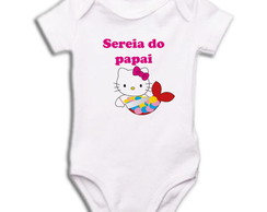 Body OU Camiseta Sereia do Papai