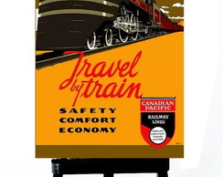 * MINI POSTER - TRAVEL TRAIN