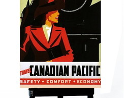 * MINI POSTER - CANADIAN PACIFIC 2