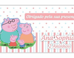 Tag agredecimento Peppa Pig