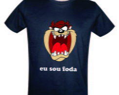 Camiseta do Taz