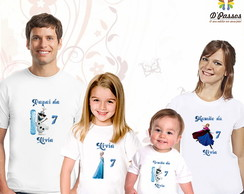 Kit 4 camisetas- Frozen 02