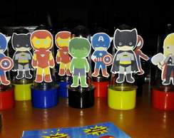 mini tubete Super herois