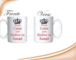 Caneca Keep Calm And...