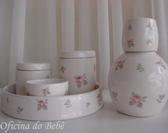 Kit higiene de porcelana